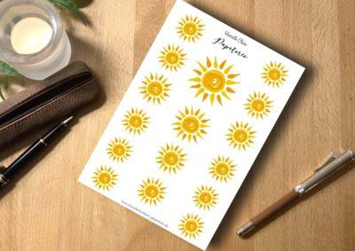 Aufkleber 🌞 🌞 sticker sun