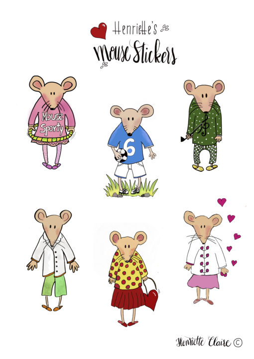 Mouse Stickerssport musik