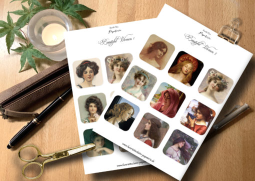 Gemälde beautiful women