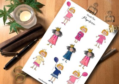 Sticker blonde Prinzessinnen
