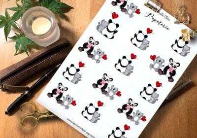 Sticker Panda Koala